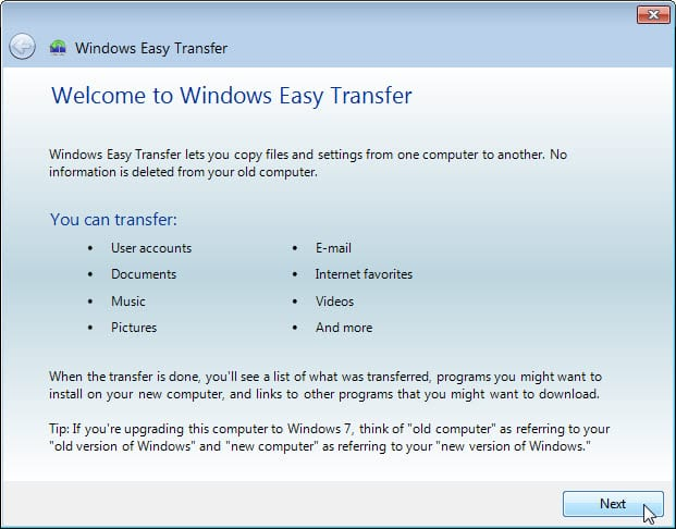 5.1.4.4 Lab – Data Migration in Windows Answers 02