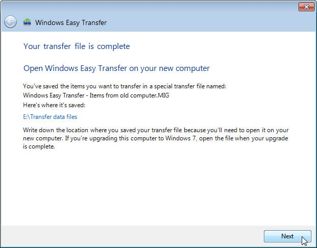 5.1.4.4 Lab – Data Migration in Windows Answers 13