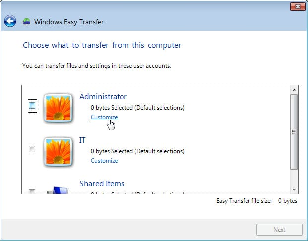 5.1.4.4 Lab – Data Migration in Windows Answers 06