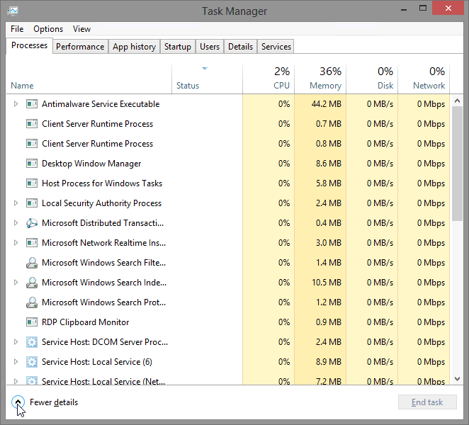 6.1.1.5 Lab – Task Manager in Windows 8 Answers 01