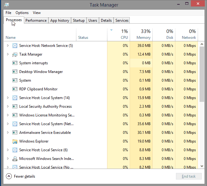 6.1.1.5 Lab – Task Manager in Windows 8 Answers 09