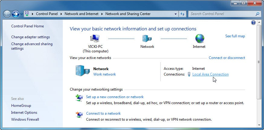 7.4.1.11 Lab – Configure a NIC to Use DHCP in Windows Answers 01