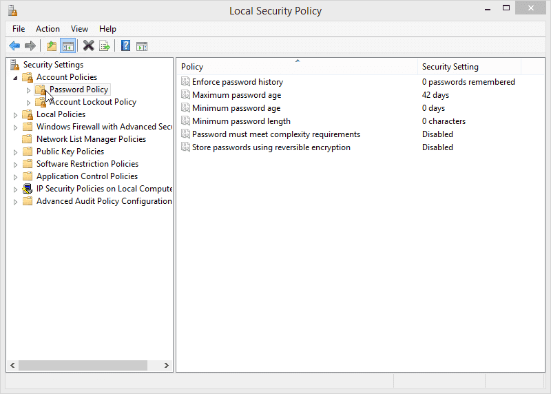 12.2.1.8 Lab – Configure Windows Local Security Policy Answers 03