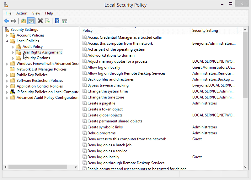 12.2.1.8 Lab – Configure Windows Local Security Policy Answers 09