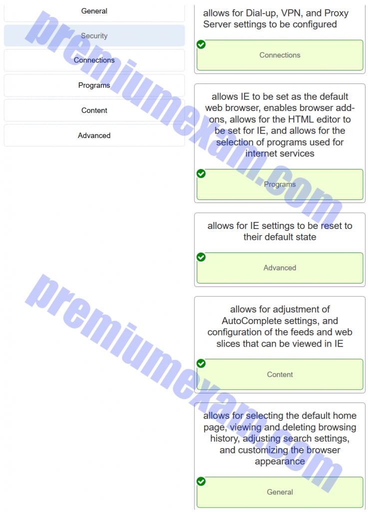 ITE v7.0 – IT Essentials (Version 7.0) – IT Essentials 7.0 Chapter 11 Exam Answers 003